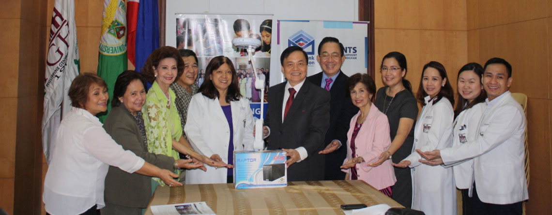 METROBANK FOUNDATION DONATION OCT82015 OBGYN