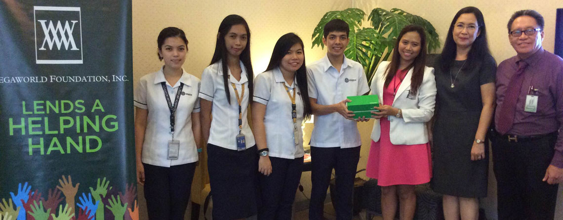 MEGAWORLD DONATION DEC2014
