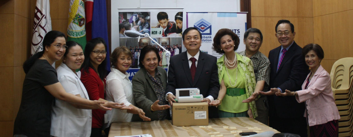 METOBANK FOUNDATION DONATION OCT82015 PEDIA